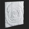 Панно Rose 3D панель Гипс
